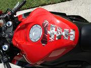 красный Honda CBR 600 2011