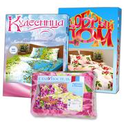 Текстильная российская фирма предлагает домашний текстиль со склада