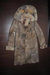 Продам женскую дубленку Blanca leather collection