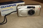пленочный фотоаппарат Olympus superzoom